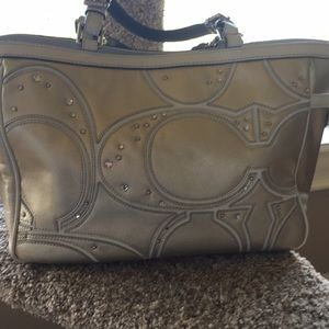 Authentic Coach handbag tote